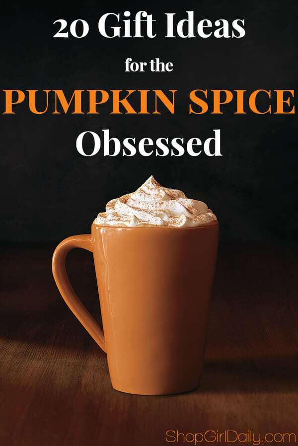 20 Gift Ideas for the Pumpkin Spice Obsessed | ShopGirlDaily.com