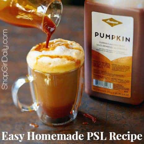 Easy Homemade Pumpkin Spice Latte Recipe