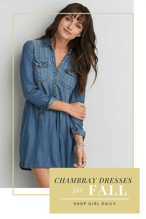 05dfe2db03727 The Perfect Chambray Dresses for Fall – Shop Girl Daily