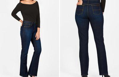 EShakti Custom Made Denim Jeans
