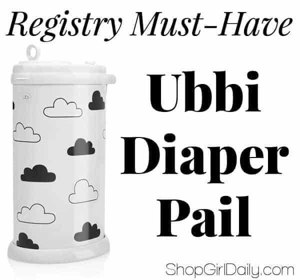 Registry Must-Have: Ubbi Diaper Pail