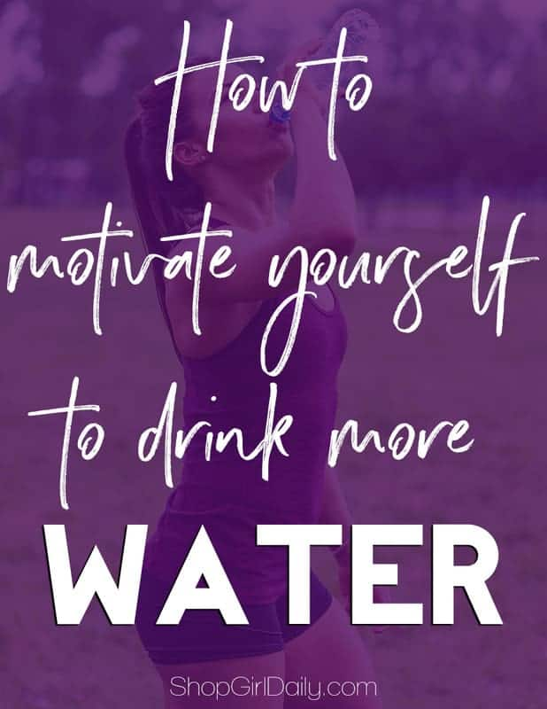 There are so many health benefits to water, but it can be so boring! Here are some tips that will help you motivate yourself to drink more water.