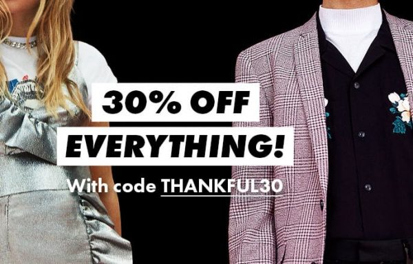 ASOS Black Friday Sale: 30% Off Everything