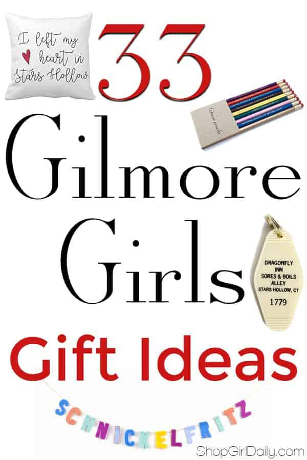 Looking for the perfect for Gilmore Girls fans? Check out these 33 unique Gilmore Girls gift ideas!