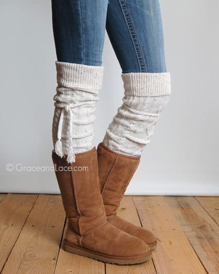 Grace & Lace Alpine Thigh High Boot Socks