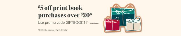 Amazon Black Friday Book Sale