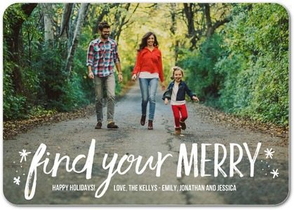 Find Your Merry Card from TinyPrints