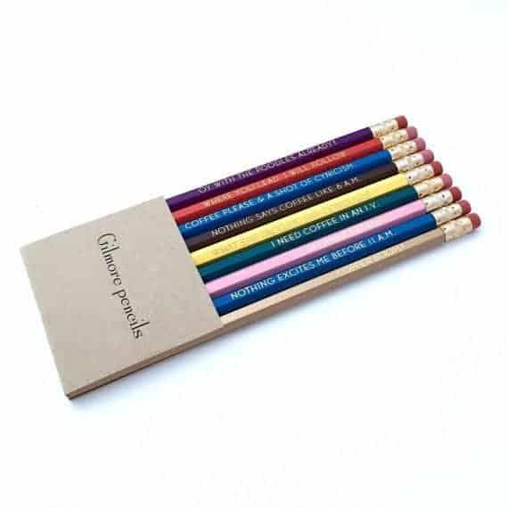 Gilmore Girls Pencil Set