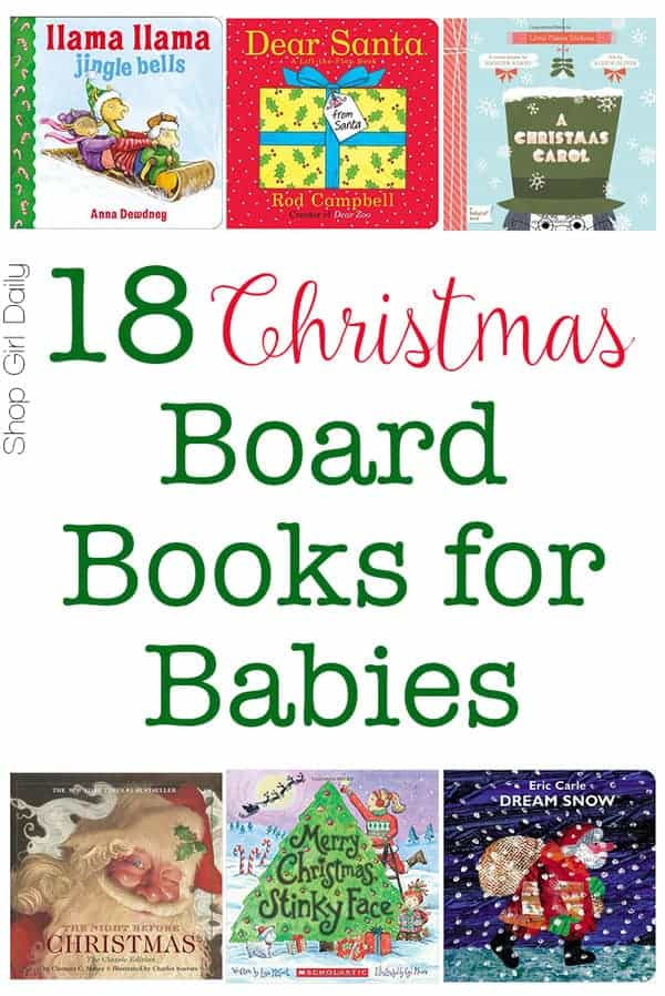 18 Christmas Board Books for Babies