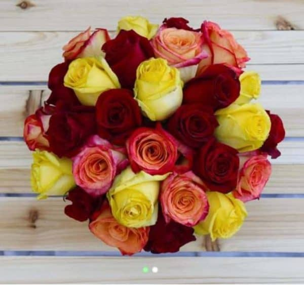 The best Valentine's Day flowers: Fallin' in Love bouquet from Vivaroses