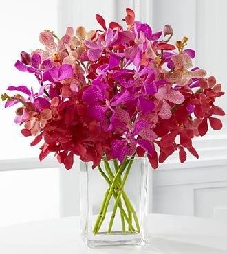 FTD Tickled Pink Orchid Bouquet