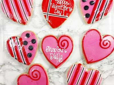 Valentine's Day Cookies From Cookies By Design