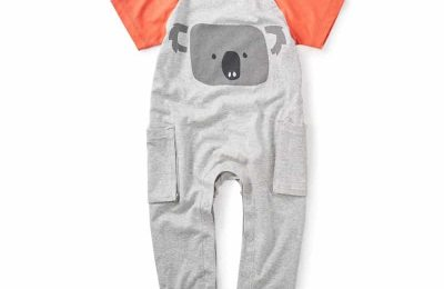 Koala Pocket Romper From Tea Collection