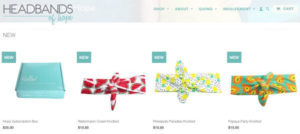 Headbands of Hope, founded by Jess Ekstrom