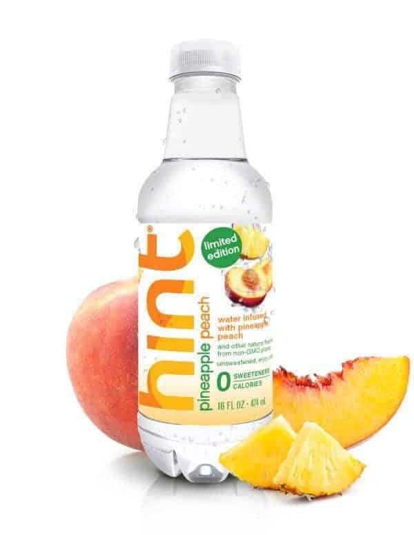 Pineapple Peach Hint Water