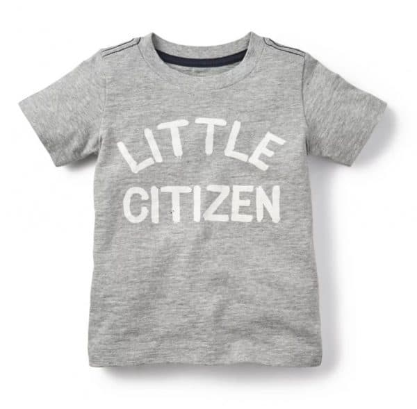 Little Citizens Tee from Tea Collection
