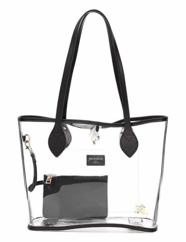 Purseption Thompson Clear Tote