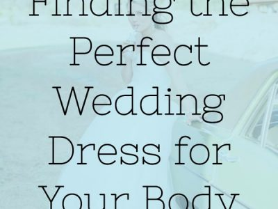6 Tips For Finding The Perfect Wedding Dress For Your Body Type