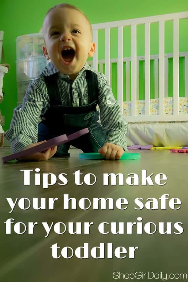 Toddler Proofing Tips: Keep Your Curious Toddler Safe | ShopGirlDaily.com