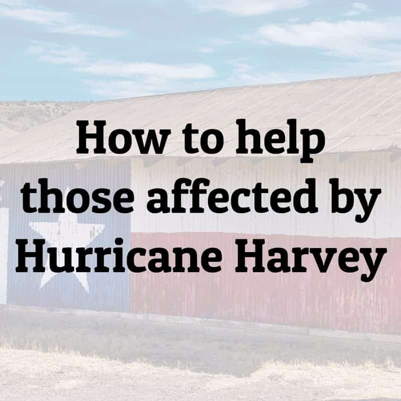 how to help those affected by Hurricane Harvey | ShopGirlDaily.com