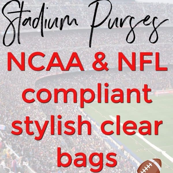 Stadium Purses: 10 Stylish Clear Bags That Are NCAA & NFL Compliant