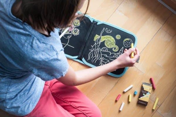 Chalk Color It Book