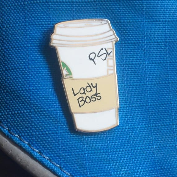 Lady Boss PSL Pin