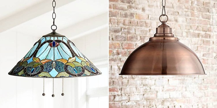 Plug-in Swag Pendant Lights from Lamps Plus