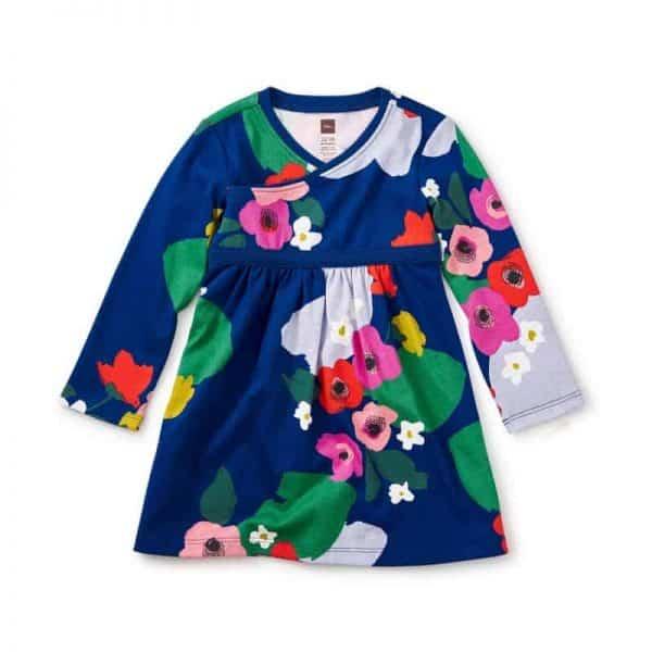 Scottish Garden Wrap Dress