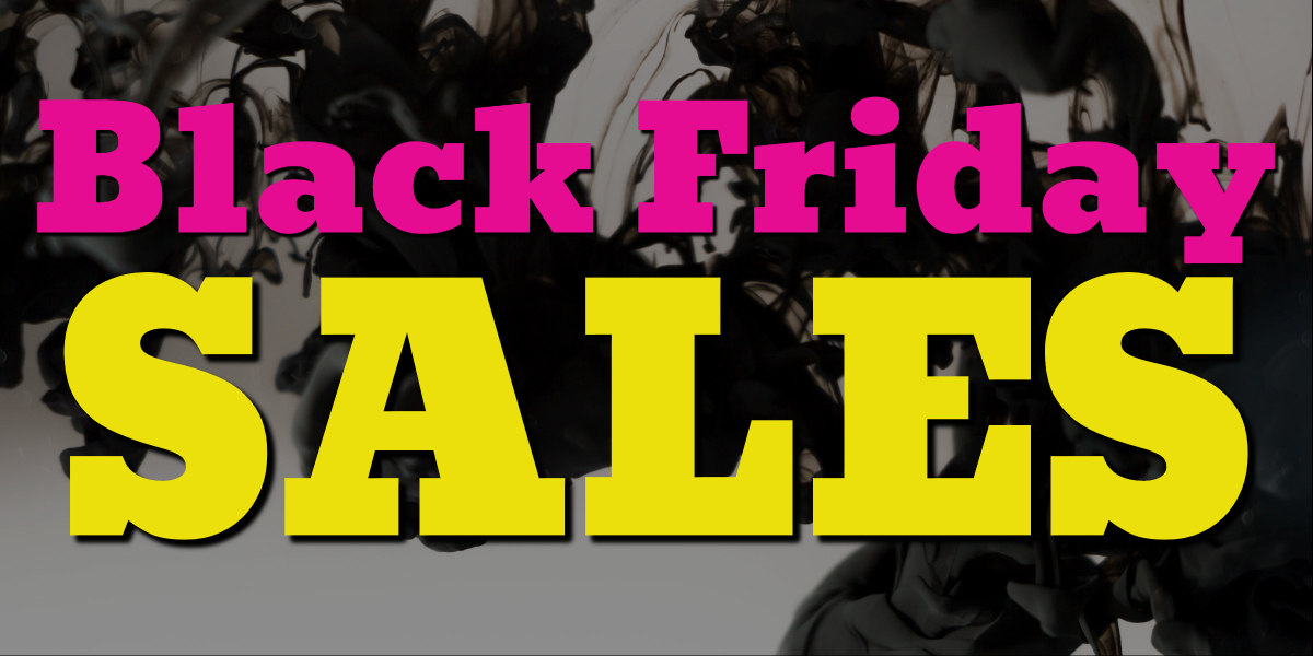 Black Friday Sales And Cyber Monday Sales