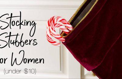 Stocking Stuffers For Women Under $10 | ShopGirlDaily.com
