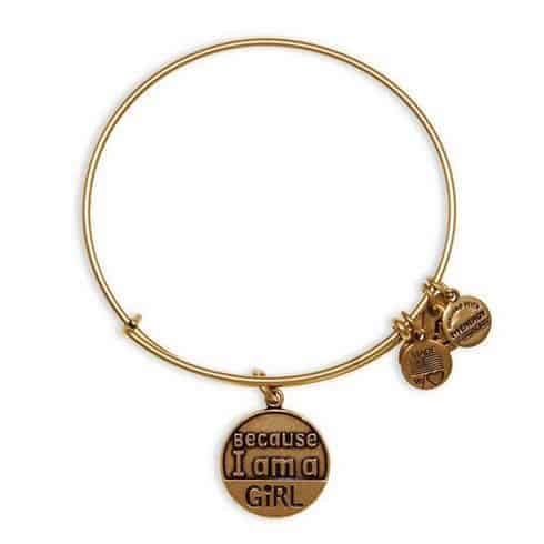 Because I am a girl bracelet