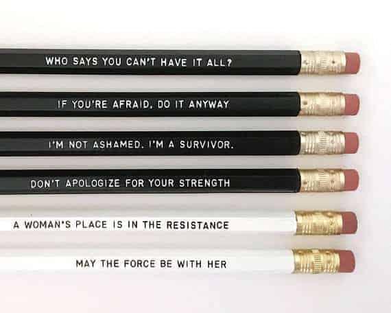Feminist Pencils