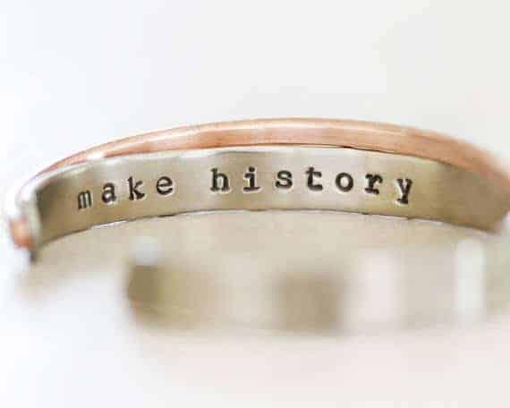Make History Cuff Bracelet