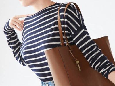 Style Alert: Chic & Roomy Fossil Tote Bags