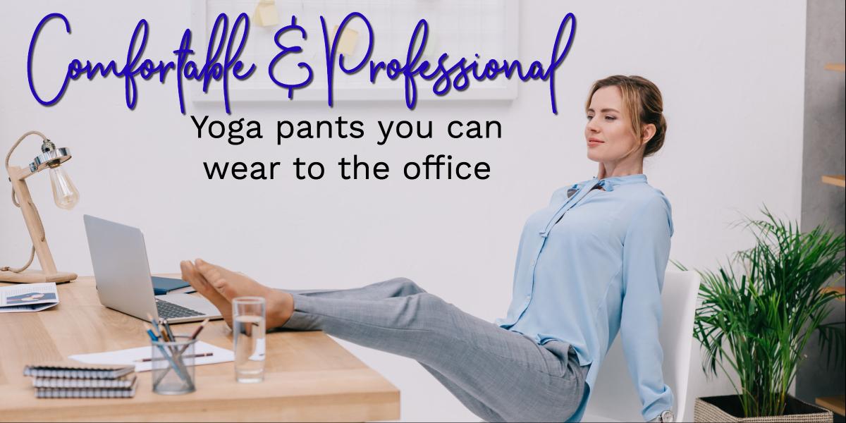Yoga dress pants you can wear to the office | ShopGirlDaily.com
