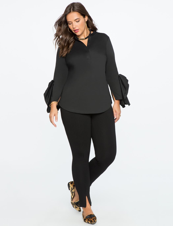 Plus Size Dress Yoga Pants from Eloquii