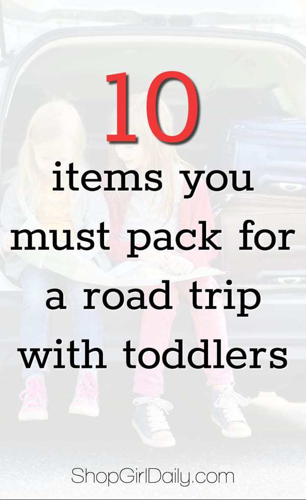 I love traveling with my children, but there's a lot of work that goes into making sure you have everything you need for every part of the trip. If you're planning on hitting the road with your children this summer, here are a few items you'll want to be sure to pack for a family road trip. #roadtrip #travel