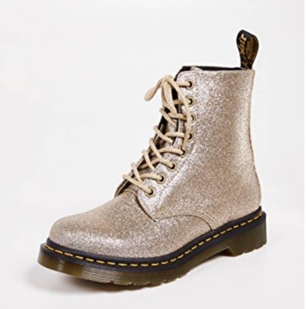 Dr. Martens Glitter 8-Eye Boots