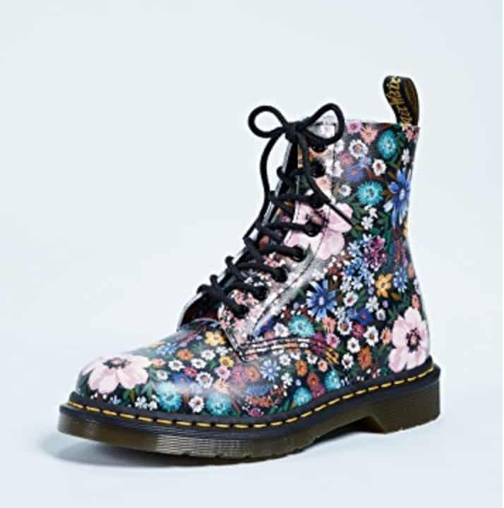 Dr. Martens Boots: Floral