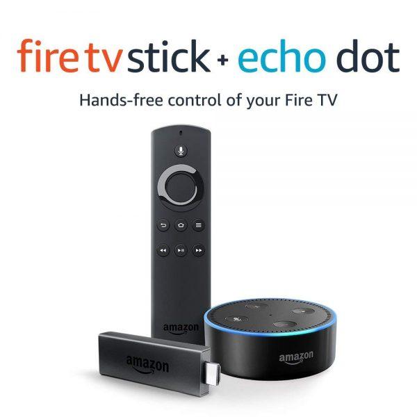 Amazon Fire TV Stick + Echo Dot Deal