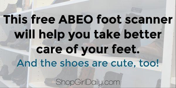 ABEO foot scanner