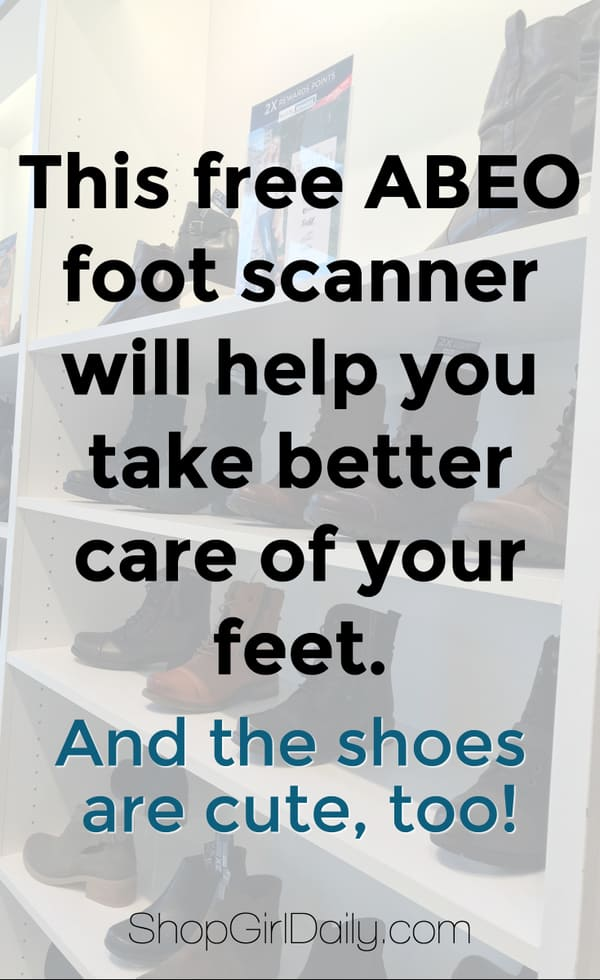 ABEO Footwear scan at The Walking Company